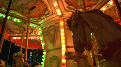 Carousel Mid Shot - stock footage