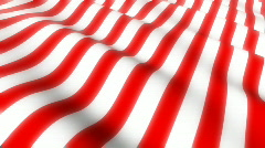 American Flag Looping Background - stock footage