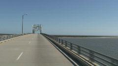 Chesapeake Bay Bridge-Tunnel #3 Stock Footage