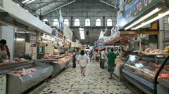 Meat market Mazatlan Mexico P HD 4787 Stock Footage