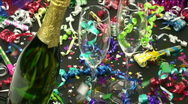 Champagne Celebration Stock Footage