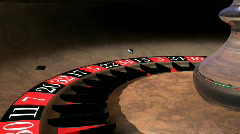 Db roulette wheel 02 hd1080 Stock Footage