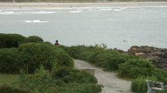 Maine coastline #4, Marginal Way Stock Footage