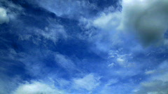 Stock Video Footage of clouds sky timelapse