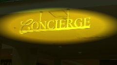 Concierge Stock Footage