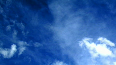 Heaven time lapse sky clouds Stock Footage