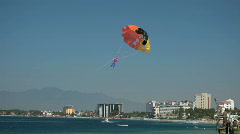 Puerto Vallarta para sail toy beach P HD 4548 Stock Footage