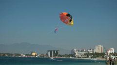 Puerto Vallarta para sail toy beach P HD 4548 Stock Footage