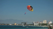 Stock Video Footage of Puerto Vallarta para sail toy beach P HD 4548