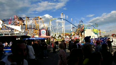Stock Video Footage of Cannstatter Volksfest, Oktoberfest Stuttgart beer festival
