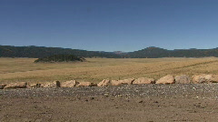 Lava Dome In The Valles Caldera Of The Jemez Mountains Stock Footage