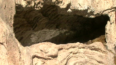 Cave In The Soda Dam Of The Jemez Mountains Stock Footage