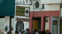 Cuban Cigar sign P HD 4543 - stock footage