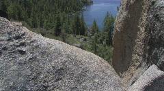 Lake Tahoe Views - stock footage