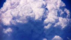 VJ Loop Time Lapse Cumulus Clouds HD 01 Stock Footage