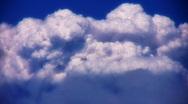 VJ Loop Time Lapse Cumulus Clouds HD 02 Stock Footage