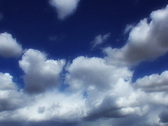 VJ Loop Time Lapse Blue Sky Clouds SD 01 Stock Footage