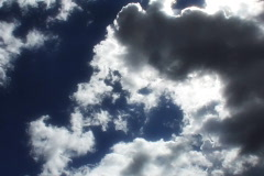 VJ Loop Time Lapse Blue Sky Clouds SD 02 Stock Footage