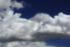 VJ Loop Time Lapse Blue Sky Clouds SD 03 Stock Footage