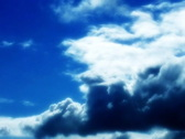 VJ Loop Time Lapse Blue Sky Clouds SD 06 Stock Footage