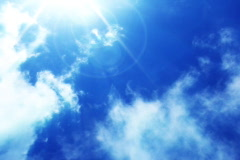 VJ Loop Time Lapse Blue Sky Clouds SD 08 Stock Footage