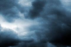 VJ Loop Time Lapse Dark Sky Clouds SD 01 Stock Footage
