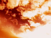 VJ Loop Time Lapse Sunset Clouds SD 02 Stock Footage