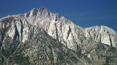 Lone Pine Peak and Mt. Whitney - stock footage