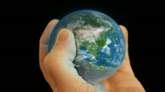Earth in hand - LOW PRICE SALE!! limited time  Stock Footage