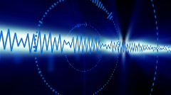 Audio themed background Stock Footage