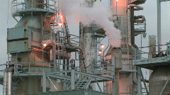 Refinery - stock footage