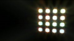 floodlight / spotlights - stock footage