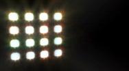 Floodlight / spotlights Stock Footage