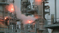 Refinery - Zoom Out - stock footage