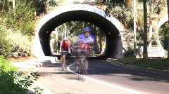 Tour de Foothills Bike Race 3 Stock Footage