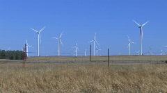 Windmill Wind Farm 7 - stock footage