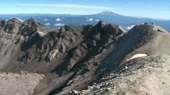 Mount St Helens Crater Stock Footage