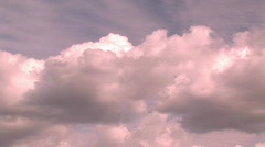 TIMELAPSE CLOUDS 1 Stock Footage