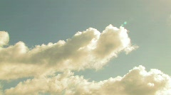 TIMELAPSE CLOUDS 3 Stock Footage