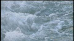 Rushing Water Stock Footage