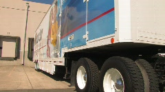 Moving Truck Stock Footage