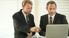 business meeting 07 - stock footage