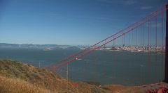 Golden Gate Bridge 3 - stock footage