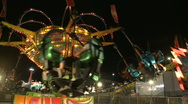 Carnival Spinner Stock Footage