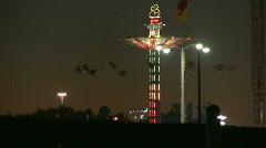 Carnival Swings Wide Stock Footage