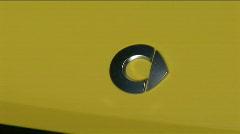 Smart car logo emblem Stock Footage