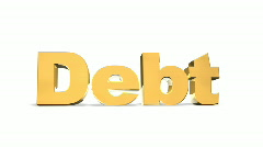 Debt Bulge Gold Stock Footage