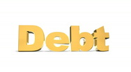Stock Video Footage of Debt Bulge Gold