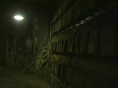 Inside The Salt Mine Stock Footage
