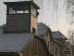 Auschwitz Gate 3 Stock Footage